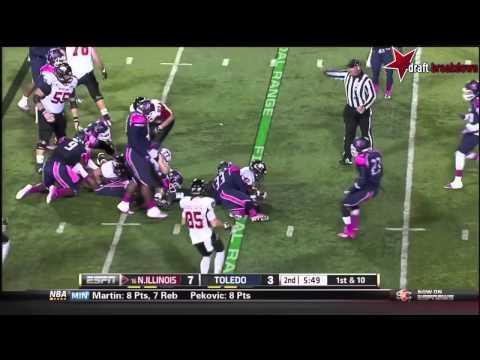 Jayrone Elliott vs Northern Illinois 2013 video.