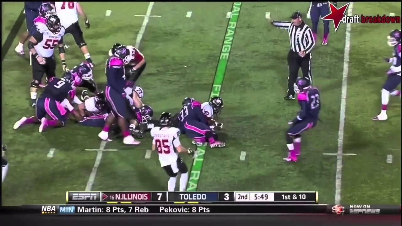 Jayrone Elliott vs Northern Illinois (2013)