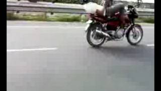 Texting While Riding Motorcycle in India