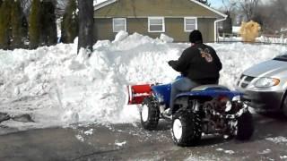 10. Snow plowin Trailboss