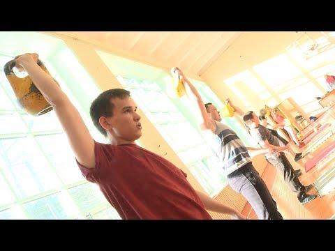 Коревнования по гиревому спорту «Рывок к Победе» в САФУ