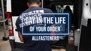 Day in the Life of Your Order | Allfasteners USA