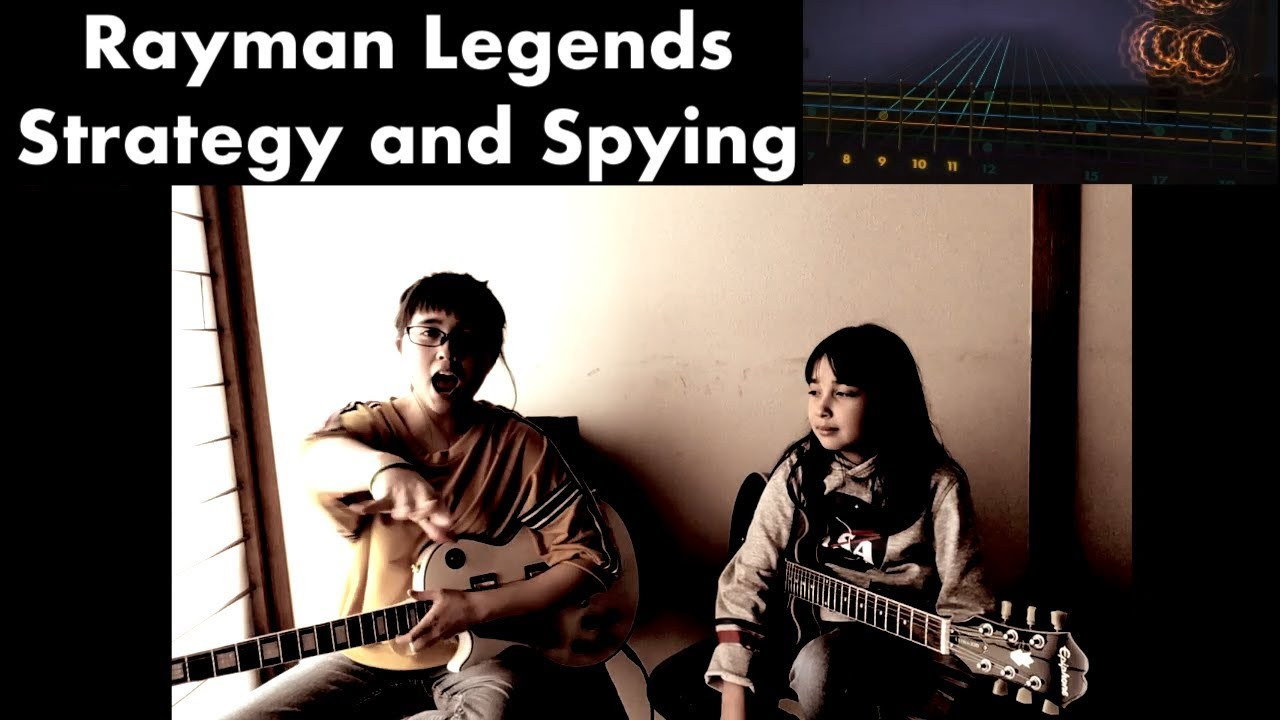 Rayman Legends – Strategy and Spying – Guitar x 2 – Rocksmith