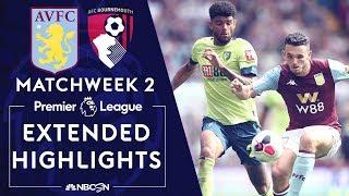 Video Aston Villa v. Bournemouth | PREMIER LEAGUE HIGHLIGHTS | 8/17/19 | NBC Sports MP3, 3GP, MP4, WEBM, AVI, FLV Agustus 2019