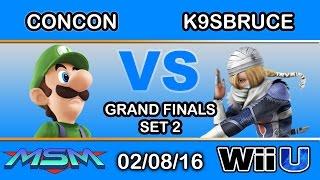 Mr Con Con's 30 second game vs K9