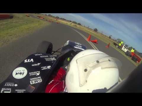 RMIT Electric Racing: Best Autocross Run - Formula SAE-Australasia 2013, Wayne Bourke 43.7s