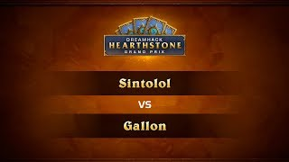 Sintolol vs Gallon, game 1