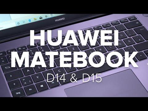 Huawei Matebook D14 & D15 im Test - edles Alu-Gehäuse ...
