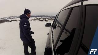Video. Follo Trafikkteam på BMW Winter Experience off road
