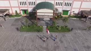 Aerial Upacara 17 Agustus at STAIN KediriBy : Ngurusi Project Produksi 2016