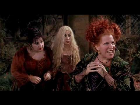 "hocus pocus (1993)- ""Come, we Fly"" 1080p"
