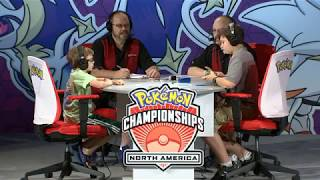 http://bit.ly/ST1xUqWatch Regan battle Jared in the finals of the 2017 Pokémon Trading Card Game North American International Championships Junior Division (match starts at 15:18)! Learn more about the Pokémon Championship Series on our site!