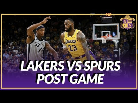 Video: Lakers Nation Discussion: Lakers vs Spurs, LeBron Passes Dirk, Rondo Passes Up Open Layup
