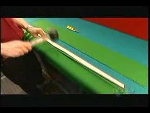 ¿Cómo se hace una mesa de Billar?