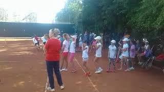 Николаев. Стартовал чемпионат по теннису среди юных спортсменов