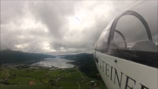 Surnadal Norway  city pictures gallery : Fox sailplane with jetcat p-60se in Surnadal Norway !