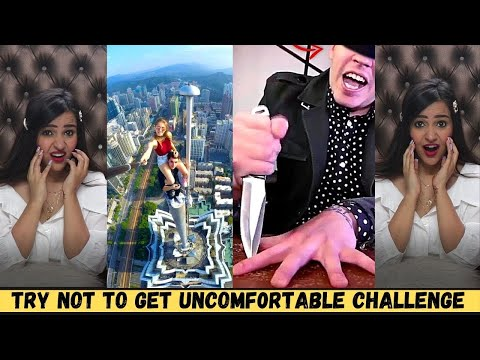 Try NOT to get UNCOMFORTABLE Challenge