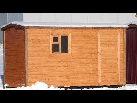 Строительство бани 3х4 видео
