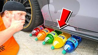 Video CRUSHING SODA WITH MY CAR! CRUNCHY, SOFT, SQUISHY AND MORE! MP3, 3GP, MP4, WEBM, AVI, FLV Januari 2019