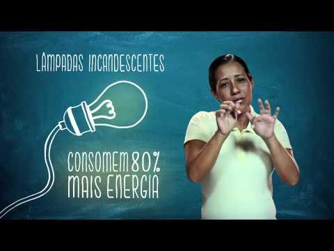 Campanha de Uso Racional de Energia - Libras - Lâmpadas- Eletrobras Distribuição Rondônia