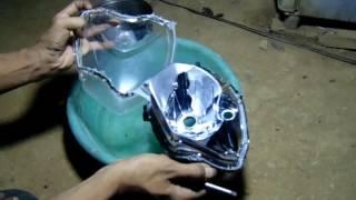 Video Cara Mudah Membuka Reflektor / Batok Lampu dengan Air Panas. MP3, 3GP, MP4, WEBM, AVI, FLV Juli 2018