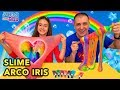 Download Lagu Hacemos ARCO IRIS DE SLIME. Rainbow Slime Challenge | ABY Mp3 Free