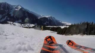 Video GoPro: Skiing in Saalbach - Hinterglemm 2017 MP3, 3GP, MP4, WEBM, AVI, FLV Mei 2017