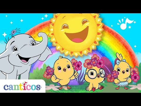 Canticos | Songs for a Good Morning Routine | Bilingual English and Spanish | Learn at home
