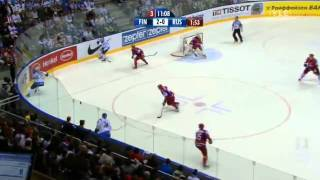 Ice Hockey World Championships 2011 Finland - Russia all goals of the match (3-0).