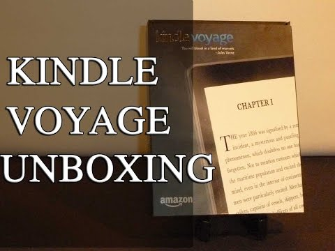Kindle Voyage Unboxing & Overview