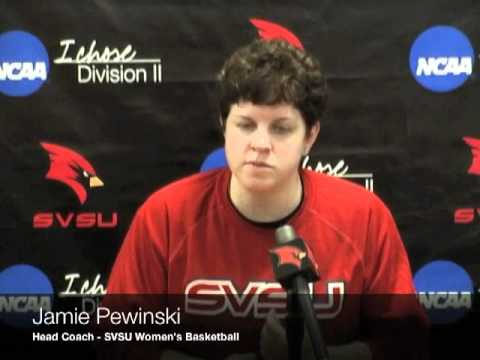 Jamie Pewinski - SVSU Women's Basketball - Jan. 25
