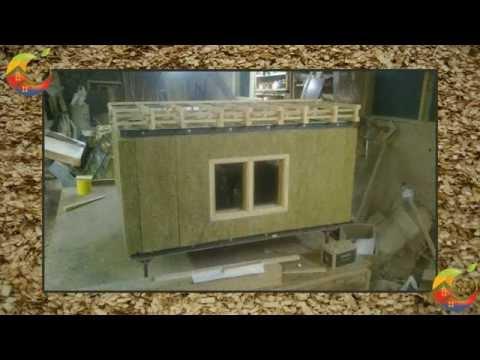 Разработка макета модульного здания