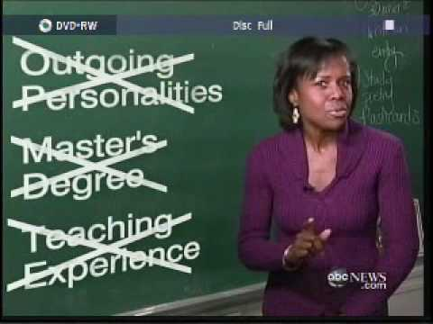 teachers - ABCNews - What Makes Great Teachers - 02-26-2010.