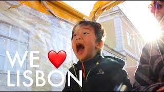 Video FALLING IN LOVE WITH LISBON : Traveling Family of 11 MP3, 3GP, MP4, WEBM, AVI, FLV Juni 2018