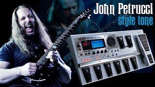 John Petrucci Style Tone | Dicas Boss GT-10 com Rodrigo Alves