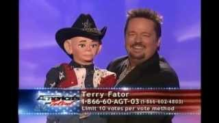 America's Got Talent Season 2 - Terry Fator - Finale Act 1