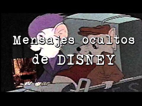 Mensajes ocultos de Disney
