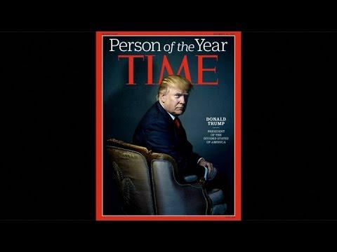 La revista Time nombra al presidente electo estadounidense Donald Trump persona del año