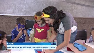 Sesc Bauru oferece oficinas de fantasias para crianças