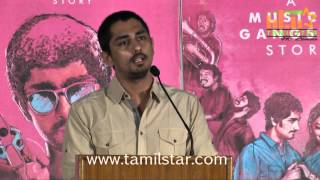 Siddharth Press Meet Part 1