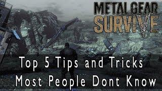 Video Metal Gear Survive - Top 5 Tips and Tricks Nobody Knows MP3, 3GP, MP4, WEBM, AVI, FLV Juni 2018