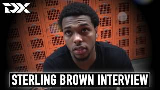 Sterling Brown Interview at the 2017 Portsmouth Invitational Tournament