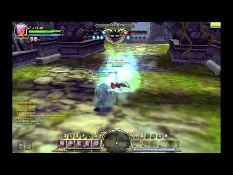 Dragon Nest: Gladiator vs Elestra (Sword Master 3rd Class and Elemental Lord 3rd Class)