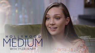 Video Maddie Ziegler Learns Her Grandma Is Her Guardian Angel | Hollywood Medium with Tyler Henry | E! MP3, 3GP, MP4, WEBM, AVI, FLV September 2018