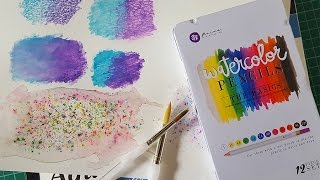 In this video I show a few ways in which you can use your watercolour pencils. The watercolour pencils I use in this tutorial are Prima ( basics colour ) and the watercolour paper I test them on is the Daler and Rowney Aqua fine smooth. The prima colours I tested seemed to work very well, giving strong vibrant colours.In the video I show:- Adding water to your watercolour sketch to wet it and make it more like paint (most common and easiest way.)- Wetting the page first, then drawing on top of it.- Wetting the end of your watercolour pencils by using a paint brush or simply dipping the tip of your pencils in water, then drawing onto your paper.- Using a blade to create a cool effect with a wet page and pencil shavings.facebook- http://facebook.com/learningasidrawdeviantart-  http://learningasidraw.deviantart.comInstagram - https://www.instagram.com/learningasidrawart/twitter- http://twitter.com/learningasidrawblog- http://learningasidraw.blogspot.co.uk