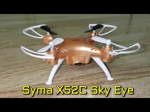 Syma X52C Nano Quadcopter with 2MP 720P HD Camera