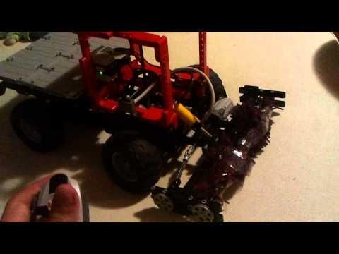 Lego unimog mit feger