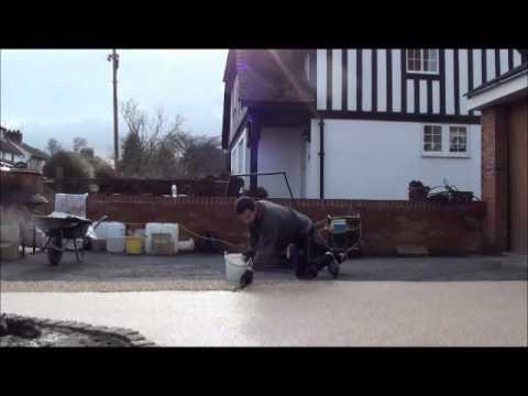 Resin Bound Stone Gravel Driveway Installation