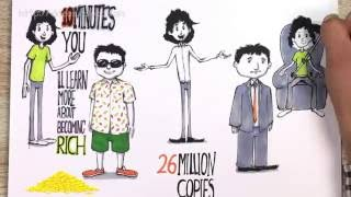 RICH DAD, POOR DAD | STUNNING HAND DRAWN book summary | collaboration with +OnePercentBetter