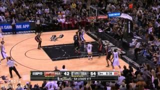 Heat vs Spurs: Game 5 Full Game Highlights 2014 NBA Finals - Kawhi Leonard Finals MVP